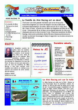Le Cardan n° 2 - Page 1