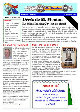 Le Cardan n° 9 - Page 1